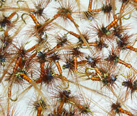 18 Artflies Biot Body Midge Dry Flies, #16, #18, #20, ~ Choose Colors ~
