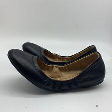 New York & Company Women's Black Ballet Flats Shoes,Size 8