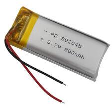 3.7V 800 mAh batería de polímero Li-ion Li-Po para Mp3 PSP GPS Móviles Cámara 802045
