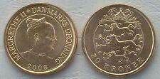 Dinamarca/Denmark 20 kroner 2008 p891 unz.