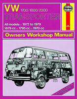 VW Transporter 1700, 1800 & 2000 1972-1993 Repair Manual
