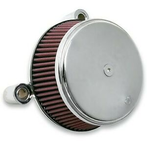 Arlen Ness 18-321 Chrome Big Sucker Stage I Air Cleaner Kit for Harley Twin Cam