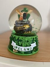 Ireland Snow Globe Approx Total Height 9 cm