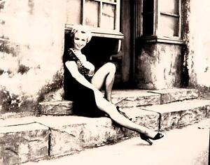 Marilyn Monroe At the Window Fine Art Giclee on Paper