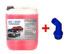 10 L Nano Autoshampoo Carshampoo Konzentrat Glanzshampoo Autoglanz Abperleffekt