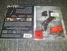 The Expendables 2 Back for War Limited Special Uncut Edition Blu-Ray Steelbook