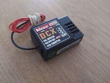RARE Hitec DCX 3 Channel 40 MHz FM Dual Conversion Receiver for RC Futaba Sanwa