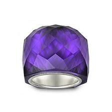 NIB $190 Swarovski Large Nirvana Purple Velvet Ring sz 52/US 6/S #1166785
