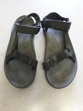 TEVA Black Nylon, Gladiator Strap Sport Sandals. Men's 12