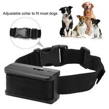 Pets Dog Anti Bark Collar Rechargeable Vibration Pet Training Stop Barking Tools