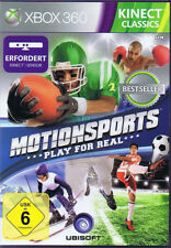 Kinect Sports Xbox 360 Activ motion porte play for Real (kinect necessario)