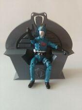 Gi Joe Cobra Commander Serpentor Throne Custom Made 1/18 Scale. 3d printed.