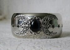 Triple Moon Goddess Bracelet, wiccan pagan wicca witch witchcraft metaphysical