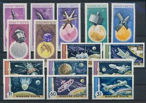 LO42965 Hungary satellite rocket space fine lot MNH