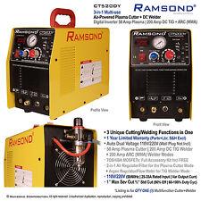 Multi-function 50 Amp Plasma Cutter 200 Amp TIG ARC MMA Welder 110/220V 50/60Hz