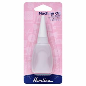 Hemline Fine Quality Sewing Machine Oil Bottle 20ml (3/4 fl.oz.)