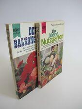 Konvolut 2 Taschenbücher HEYNE Nutzgarten und Balkongarten K1595