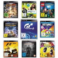 Playstation 3 Spiele - AUSWAHL - Minecraft - Buzz - Singstar - Just Dance - PS3