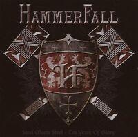"HAMMERFALL ""STEEL MEETS STEEL"" 2 CD NEU"