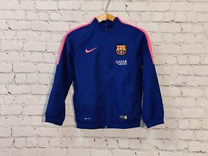 Football jacket soccer FC Barcelona Barca Training 2014/2015 Nike Top Kids Youth