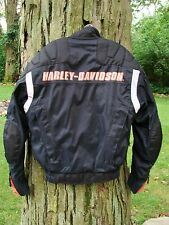 Harley Davidson FXRG Textile Motorcycle Riding Jacket With Liner Size XS