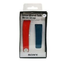 SONY Watch strap Interchangeable SWR310 for Smartband Talk Red Blue size S / M