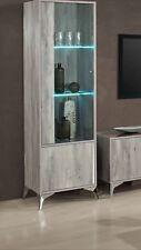 Alexa Italian 1 Door Display Cabinet Vetrine