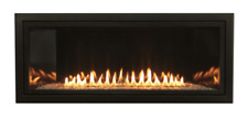 """Empire Boulevard Vent Free 36"""" Linear Gas Fireplace W/ Remote Lp Or Ng Modern"""