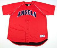 922a4fe2d13 Vintage Los Angeles Angels MLB Baseball Men s Jersey Dynasty Size XL Rare