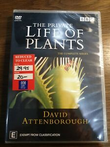 The Private Life Of Plants DVD 2003 2 Disc Set free post see my store new sealed