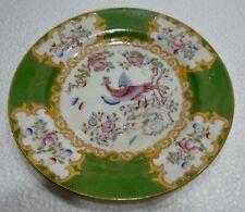 Belle ancienne ASSIETTE en Porcelaine MINTON Angleterre décor peint oiseau