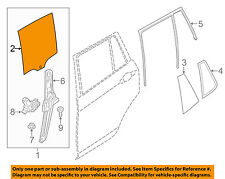 Bmw Oem 13-16 X3 Glass-Rear Door-Window-Moveable Right 51357391674