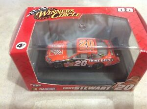 Winner's Circle 2008 1:87 Scale #20 Tony Stewart Toyota Camry Home Depot w/case
