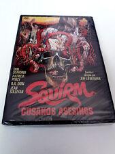 "DVD ""SQUIRM GUSANOS ASESINOS"" PRECINTADO SEALED JEFF LIEBERMAN DON SCARDINO"