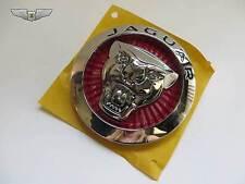 "Jaguar New Genuine Red 85mm ""Growler"" Front Radiator Grill Grille Badge C2D45429"