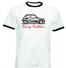 RENAULT 5 ispirazione racing tradizione P-Nuovo T-shirt Cotone-Tutte le taglie in magazzino