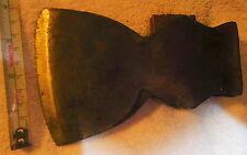 VINTAGE AMERICAN AX BROAD AXE / HATCHET tool,camping,carpenter's,2 Lb 15 oz head