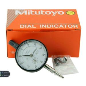 Mitutoyo 2046S Dial Indicator 0-10mm X 0.01mm Grad !!Brand New!