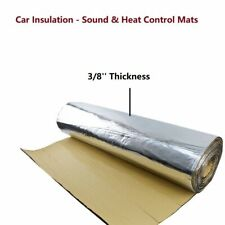 Car Noise Deadener Thermal Proof Mat - Sound & Heat Insulation Block 39''x80''