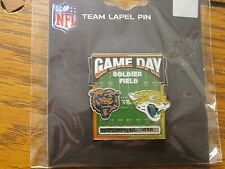 Chicago Bears VS Jacksonville Jaguars Oct 16, 2016 Soldier Field Game Day Pin