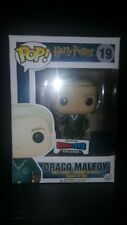 Funko Pop Harry Potter Draco Malfoy Qudditch Exclusive w/ Pop Protector