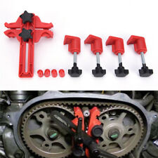5X Universal Dual Cam Clamp Árbol de levas Timing piñón Gear Locking Tool Kit VP