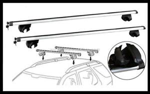 2x NEW CROSS BAR ROOF RACK For Suzuki grand vitara 1998 - 2004 attach raise rail