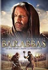 Barabba, Billy Zane, Anna Valle, Faith, Redemption, Epic, New DVD, 2013