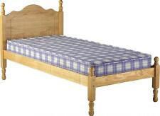Sol 3FT Single 4FT OR 4FT6 Double Antique Pine Low Foot End Bed Frame.