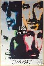 U2 Pop Official Record Release Poster 1997 Awesome!