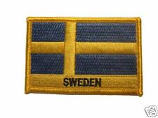 Sweden Embroidered Flag patch-Iron on orSew