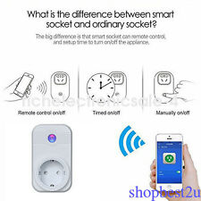 Enchufe UE WiFi Phone app control remoto timer switch Smart Socket with Alexa