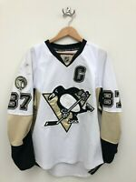 2010-2011 Reebok Pittsburgh Penguins Sidney Crosby 87 Hockey Jersey - Size 50