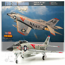 HOBBY BOSS 1/48 MCDONNELL F3H-2M DEMON *MISSILE VARIANT KIT 230PCS + PHOTO-ETCH